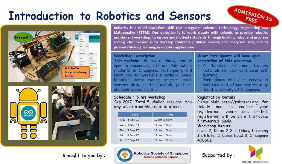 Robotics Society Of Singapore Home